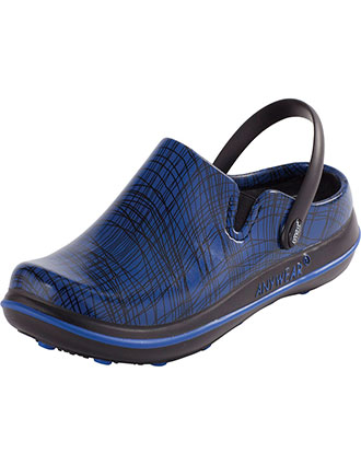 AN-ALEXIS-Anywear Women's Slip Resistant Plastic Clog