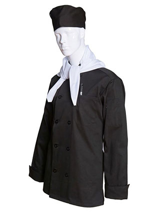 AS-202-All Star Unisex Ten Button Chef Coat