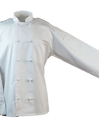AS-203-All Star Unisex Ten Knot Buton Chef Coat
