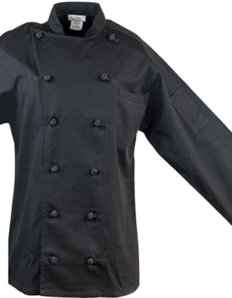 AS-225-Unisex Classic long Sleeve Chef Coat