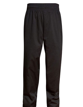 AS-301-All Star Unisex Full Elastic Drawstring Zipper Baggy Chef Pant