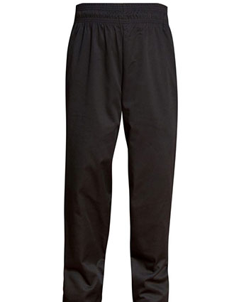 AS-311-All Star Women's Full Elastic Drawstring Chef Pant