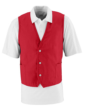 AU-2145-Augusta Sportswear Men's Three Button Vest