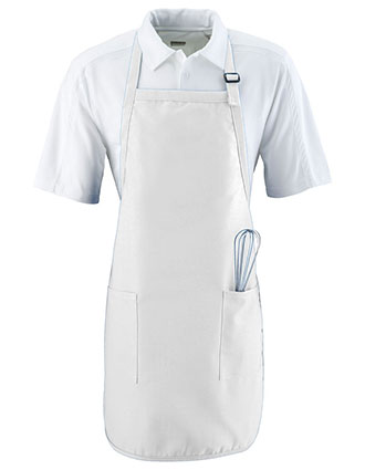 AU-4350-Unisex Full Length Apron With Pockets