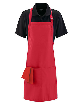 AU-5965-Unisex Full Width Apron With Pockets