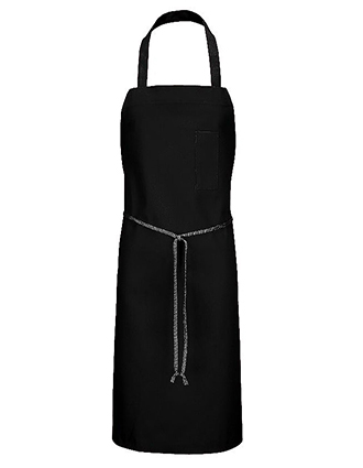CH-1751-Chef Designs Unisex Pocket Standard Bib Apron