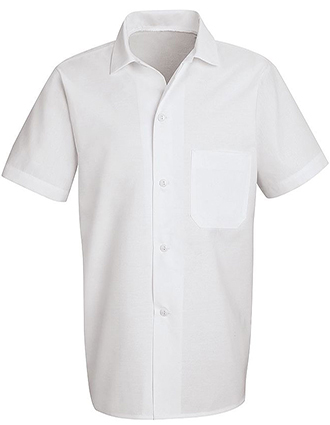 CH-5010-Unisex Button Front Cook Shirt