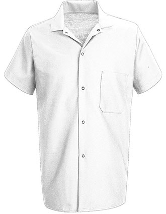 CH-5028-Chef Designs Unisex Snap Front Cook Shirt