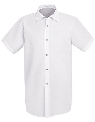 CH-5050-Chef Designs Unisex Snap Closure Long Cook Shirt