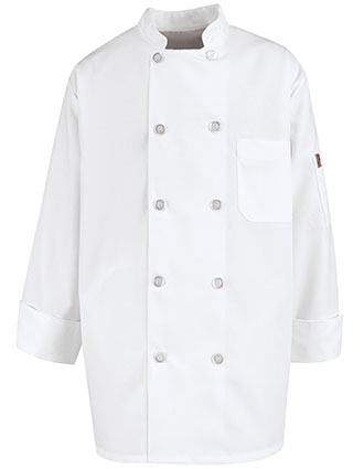 CH-KV30-Chef Designs Unisex Vented Back Chef Coat