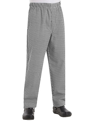 CH-PT55-Chef Designs Unisex Baggy Chef Pant With Zipper Fly