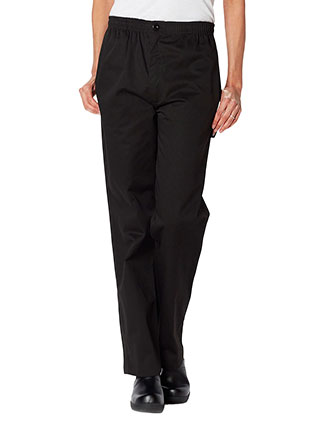 DI-DC13-Dickies Chef Men's Classic Elastic Waist Zip Trouser Pant