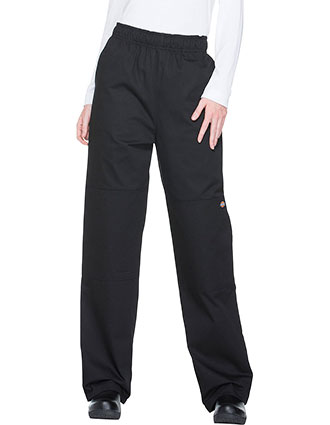 DI-DC15-Dickies Chef Unisex Elastic Waist Double Knee Baggy Pant