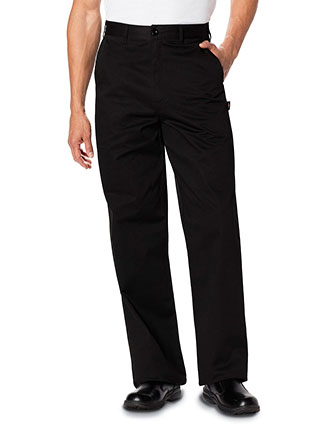 DI-DC16-Dickies Chef Men's Classic Zip-Fly Dress Pant