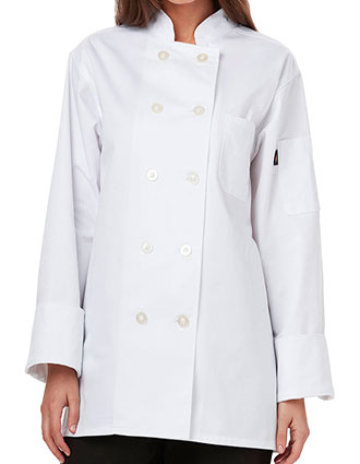 DI-DC414-Dickies Chef Women's Classic Chef Coat