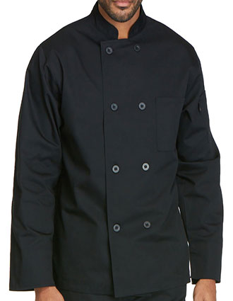 DI-DC45-Dickies Chef Unisex Classic Eight Button Chef Coat