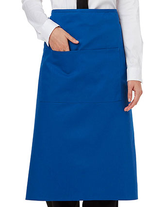 DI-DC58-Dickies Chef Unisex Full Bistro Waist Apron With Two Pockets