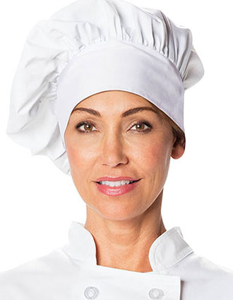 DI-DC591-Dickies Chef Unisex Traditional Chef Hat