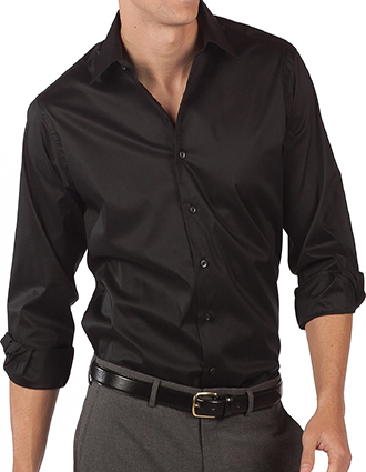 ED-1033-Mens Spread Collar Dress Shirt