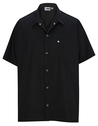 ED-1302-Men Snap Front Cook Shirt