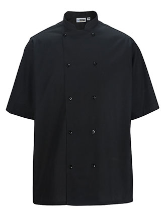 ED-1350-Men Short Sleeve Bistro Cook Shirt
