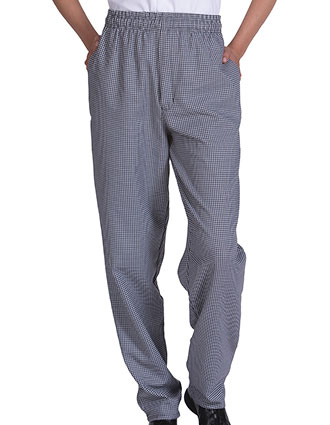 ED-2002-Edwards Unisex Elastic Waist Ultimate Baggy Chef Pant