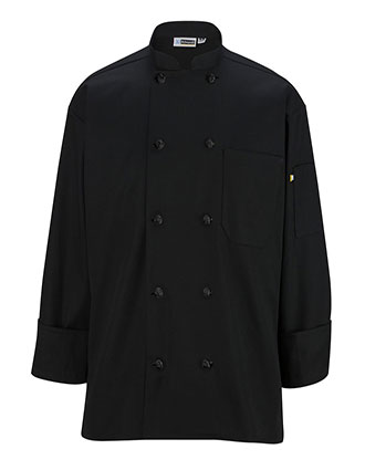 ED-3302-Unisex Classic  10 Button Chef Coat with Mesh