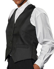 ED-7390-Edwards Women's Diamond Brocade Vest
