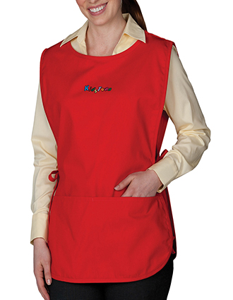ED-9006-Unisex Cobbler Apron With Center Divided Pocket