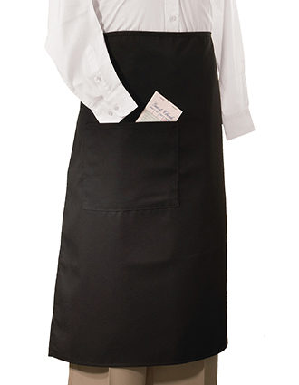 ED-9008-Unisex Long Bistro Apron With Pocket