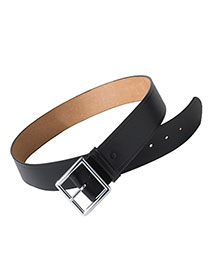 ED-BC00-Edwards Unisex Leather Garrison Security Belt