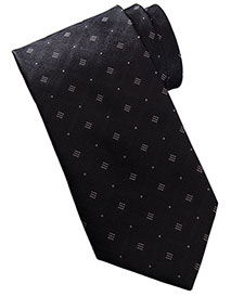 ED-DT00-Unisex Diamond And Dots Tie