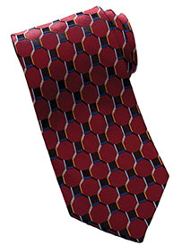 ED-HC00-Edwards Unisex Honeycomb Silk Tie