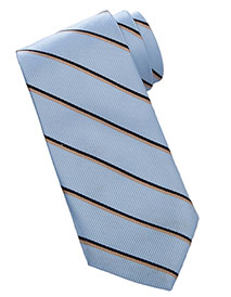 ED-RP00-Unisex Narrow Striped Tie