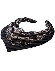 ED-SC52-Women's Floral Scarf