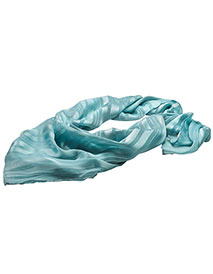 ED-SC57-Edwards Women's Solid Satin Mixed Weave Scarf