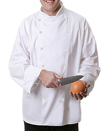 FA-C1-Fame Fabrics Unisex Executive Chef Coat