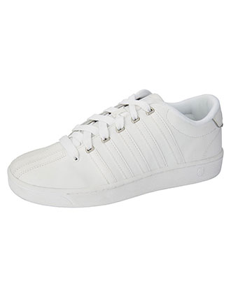 KS-MCMFIICOURTPRO-K-Swiss Men's Leather Athletic Shoes
