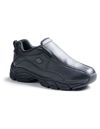 OC-SR4015FBK-Dickies Men's Slip Resisting Athletic Slip-On Work Shoes