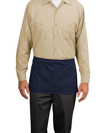 PO-A515-Port Authority Unisex Waist Apron with Pockets