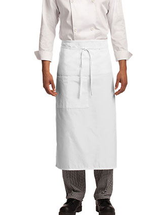 PO-A701-Port Authority Unisex Easy Care Full Bistro Apron with Stain Release