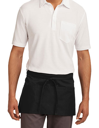 PO-A702-Unisex Easy Care Waist Apron with Stain Release