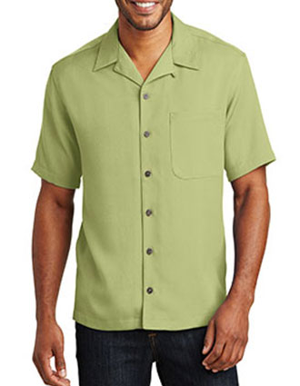 PO-S535-Port Authority Unisex Easy Care Camp Shirt