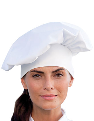 UN-0100-Uncommon Threads Unisex Poplin Chef Hat