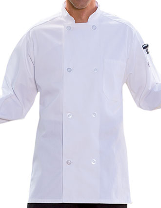 UN-0400-Unisex Classic 8 button Chef Coat