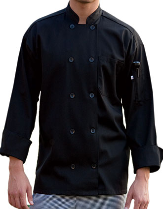UN-0402-Unisex Classic Long sleeve chef Coat