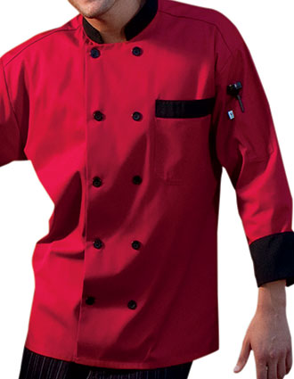 UN-0404-Unisex Newport Classic Double Breasted Chef Coat
