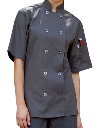 UN-0415-Uncommon Threads Unisex South Beach Chef Coat