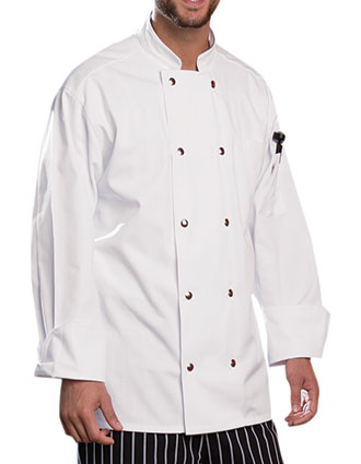 UN-0417-Uncommon Threads Men's' Reaction Chef Coat