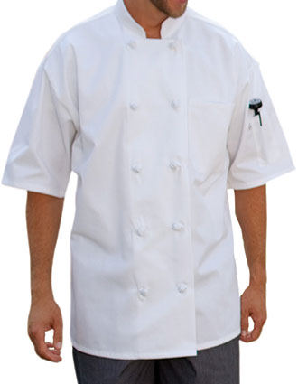 UN-0430-Uncommon Threads Unisex Antigua Chef Coat